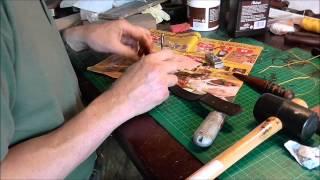 How I make a standard leather sheath (Part two)