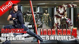 IRON-MAN 4 In Future ? & Hawkeye Ronin Updates [Explain In Hindi]