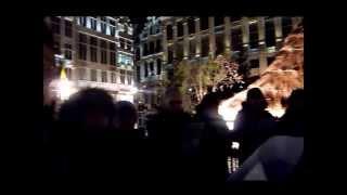 Cantando en la Grand Place de Bruselas | Fundación Yehudi Menuhin España