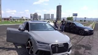 Audi RS7 vs Audi R8 vs BMW M4 vs Camaro SS