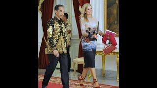 Queen of Netherlands Meet Indonesia Presiden Jokowi