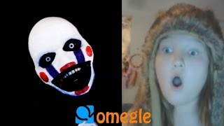 Five Nights at Freddy's - Marionette goes on Omegle!