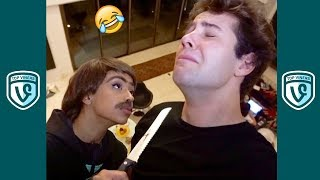 FUNNIEST David Dobrik Videos Compilation - Best David Dobrik Vines 2018 w/ Liza Koshy | Lizzza