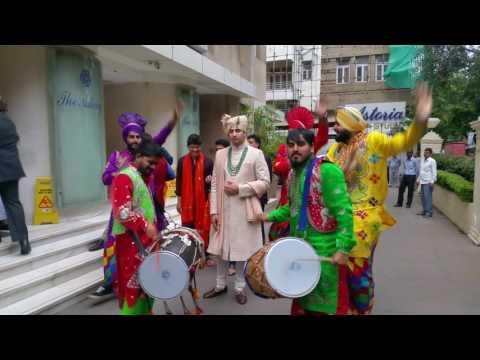 Xxx Mp4 Punjabi Dhol Bhangra Wedding Baraat Nitinbedi Mumbai 09892833280 3gp Sex