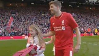 Steven Gerrard Leaves Liverpool - Full Video 16.05.2015 His Final Game Liverpool vs Crystal 1-3