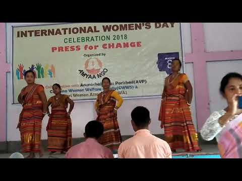 Xxx Mp4 Hajong Women Performance Hajong Traditional Folk Dance On 8th March 2018 In Diyun A P 3gp Sex