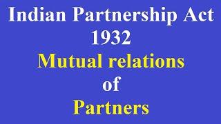 1 Mutual Relations