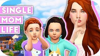SINGLE MOM LIFE | THE SIMS 4 | Part 19 - Seeing Elena And Leo!🙈