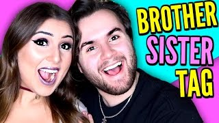 BROTHER SISTER TAG | Meet My Sister Sarah Grace!