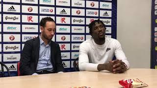 Jalen Reynolds dopo Grissin Bon - Galatasaray
