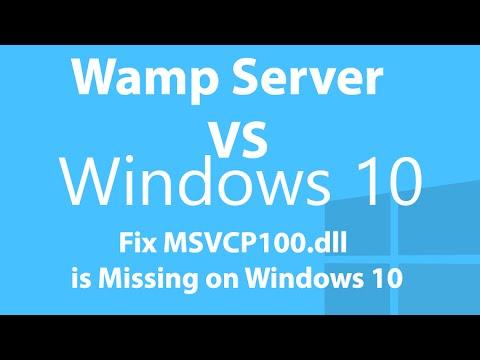 msvcp110.dll missing wamp