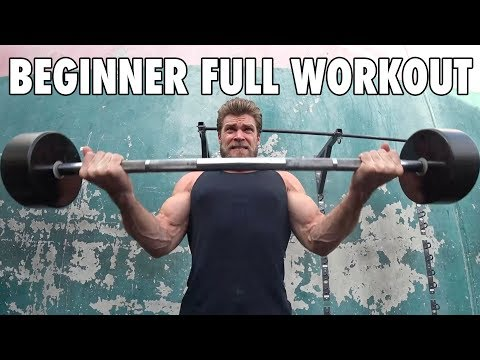 Beginner's Weekly Gym Routine (Full Workout with All Exercises)