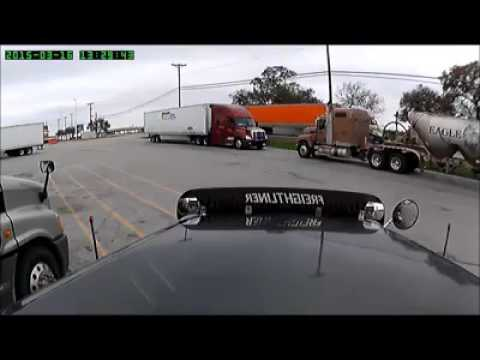 Dashcam Captures Scumbug Pulling A Truckers Kingpin After Leaving His Rig
