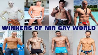 8 Handsome Mr Gay World Winners All Time