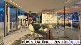 Revit Architecture | Download Complete Revit Project  & 140+ Families