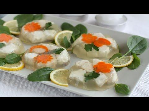 Заливное рыбное ассорти рецепт с фото