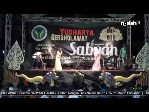 Full Video SD Konser SABYAN GAMBUS Dalam Rangka Dies Natalis Ke-16 Univ. Y