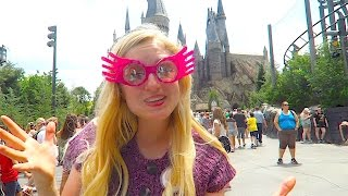 Luna Lovegood Goes To The Wizarding World Of Harry Potter Orlando!