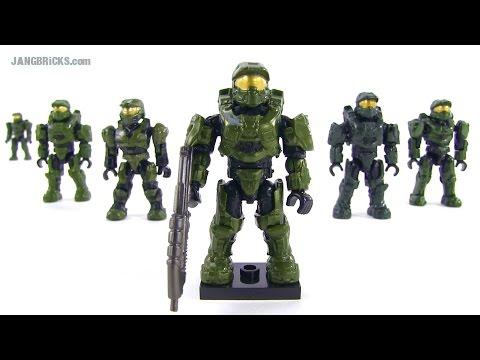 Mega Bloks Halo 2014 Master Chief figure & comparisons
