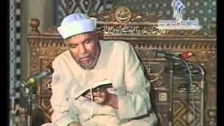 15- تفسير سورة الاعراف - الاية ( 37 - 42 ) - الشيخ الشعراوي