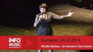 Mireille Mathieu - Un Homme Et Une Femme (LIVE, 2014)
