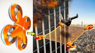 5 AMAZING TECHNOLOGY DRONE INVENTION ▶ Can Save Human Life