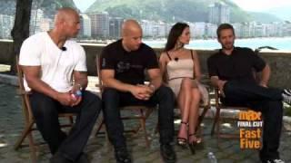 Final Cut: Fast Five Cast in Rio - Part 1 (Cinemax)