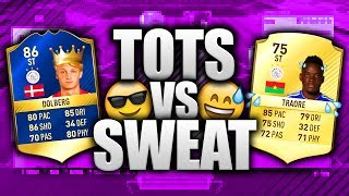 TOTS vs SWEAT…EREDIVISIE w/ TOTS DOLBERG THE WONDERKID!! FIFA 17 TOTS SQUAD CHALLENGE!