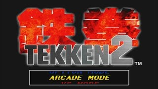 tekken 2  jun arcade mode gameplay ps1 wcontinue