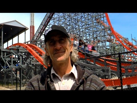 Wicked Cyclone - Alan Schilke interview HD Six Flags New England