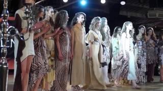 "ELEN GODIS collection ""Sand rose""  Odessa Fashion Week"