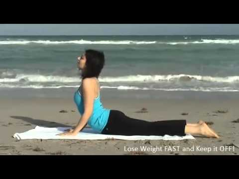 4 Yoga Poses to Reduce Belly Fat | Yoga For Beginners Weight Loss | Super FAST Results! |