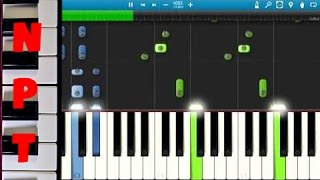 Shawn Mendes - Stitches - Piano Tutorial - How To Play Stitches on piano - Synthesia