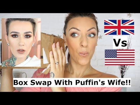 Box Swap With Mel Thompson Trying US makeup and Candy