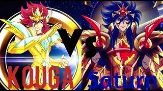 【Saint Seiya Omega Ω - Final Battle】 Kouga Vs The God Of Time Saturn/Subaru「AMV ~ Hero」