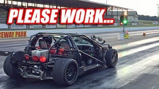 Turbocharging Leroy Ep.9 - FIRST PASSES (fastest MPH yet!)