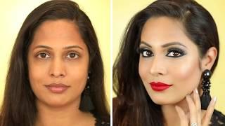*ULTRA GLAM* New Year Party Makeup - Indian Bridal Makeup Series   Shruti Arjun Anand