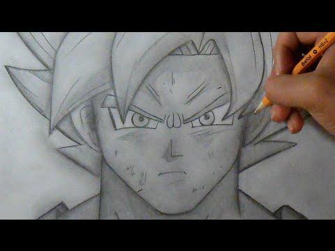 Passo a Passo Como desenhar Fase de Deus Goku Dragon Ball Z
