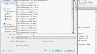 Save a File as Encoded Text - Word 2010