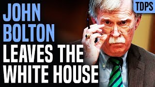 Trump: I Fired John Bolton; Bolton: I RESIGNED!