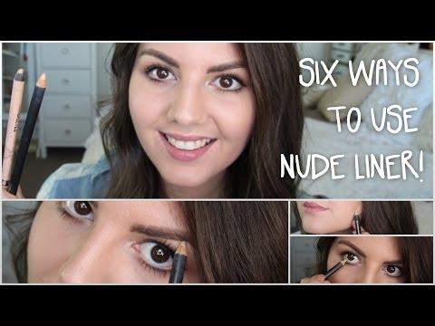 Xxx Mp4 Six Ways To Use Nude Eyeliner Beauty Bit 3gp Sex