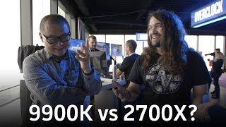 Core i9 9900K vs Ryzen 7 2700X: Here
