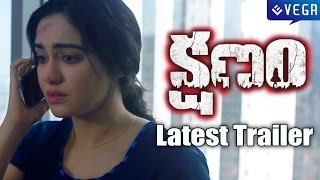 Kshanam Movie Latest Trailer || Latest Telugu Movie 2016