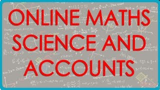 Class VI, VII, VIII, IX, X, XI and XII  - Online Maths, Science and Accounts at www.iedubook.com