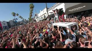"YG concert on  Fairfax with Big Sean and RJ - YG Big Bank live ""big bank"" stay dangerous"