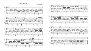 Ave Maria, D.839 (Schubert, Franz) - Violin and Piano Sheet Music