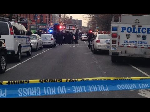 2 NYPD Officers Ambushed & Killed In Squad Car