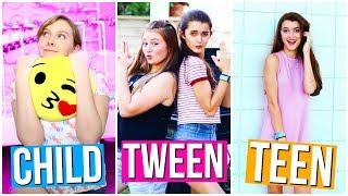 Child vs Tween vs Teen !!   Tatiana Boyd