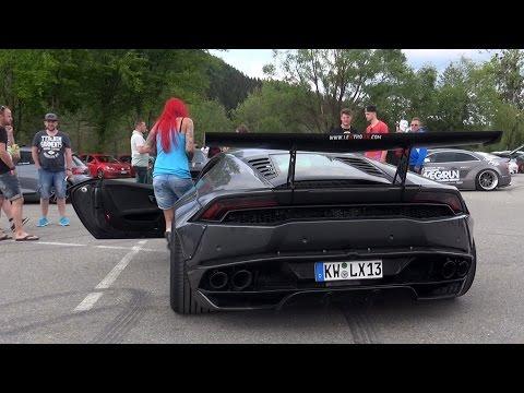 Xxx Mp4 HOT PORNSTAR GIRL Driving Her Liberty Walk Lamborghini Huracan 3gp Sex