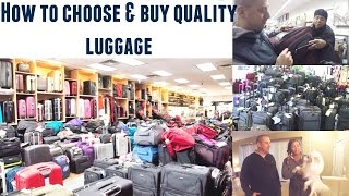 How To Choose & Buy Quality Luggage For Your Next Trip   Travel Tips